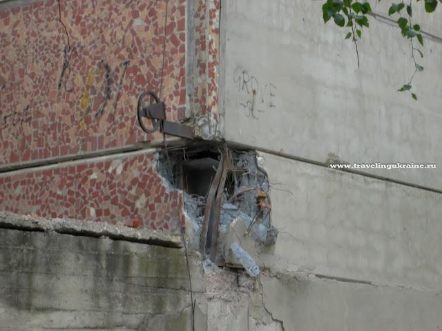 Разрушения в Славянске 2014 фото СКТБ