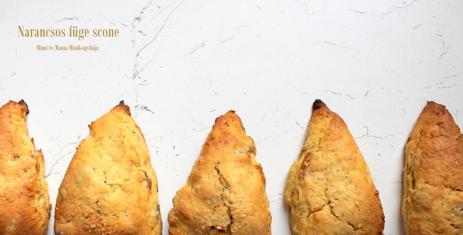 Narancsos füge scone