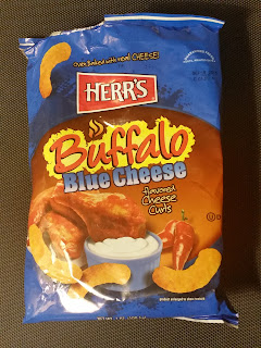 Herr's Buffalo Blue Cheese Flavored Cheese Curls Review