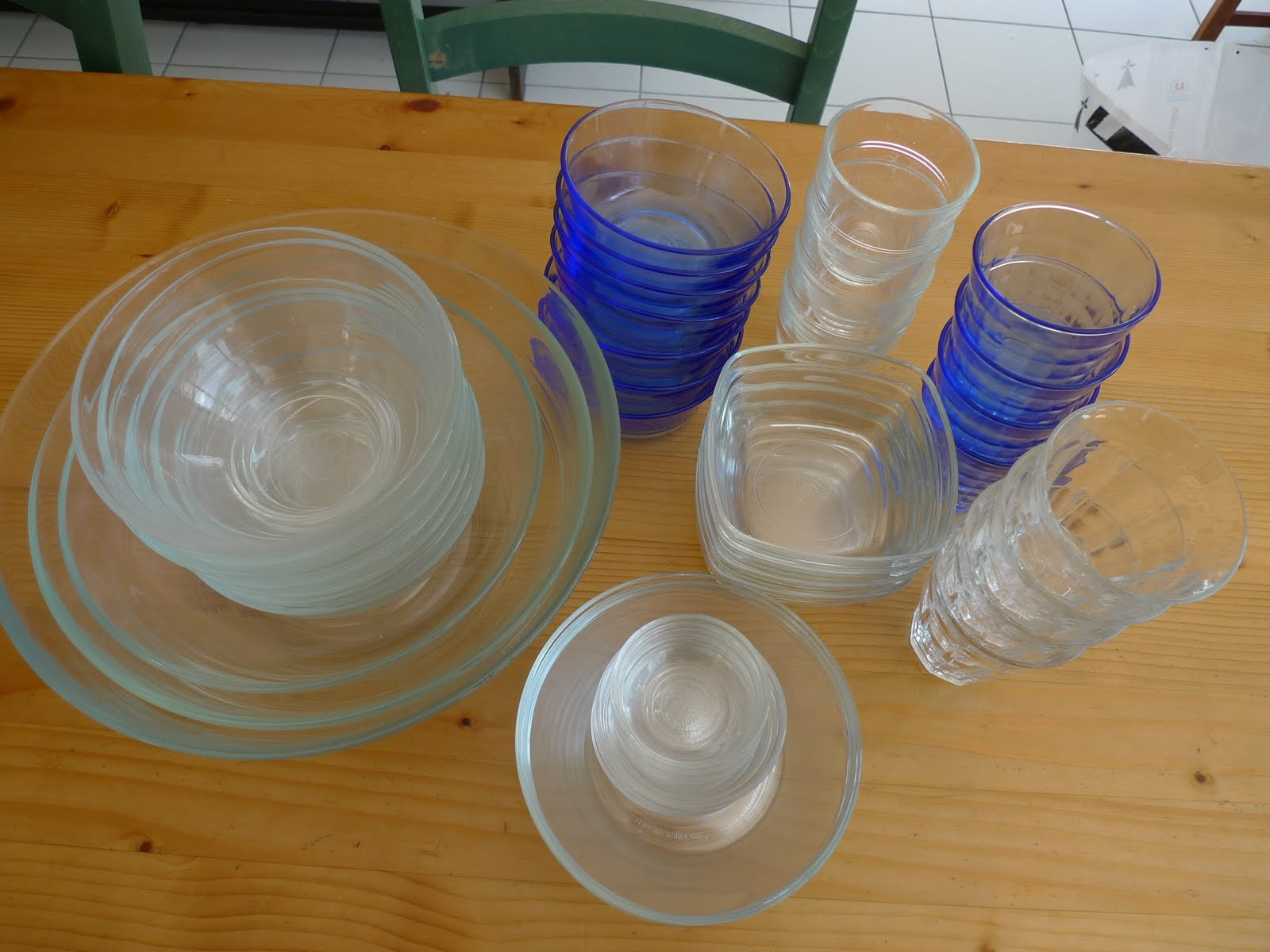 Duralex Glass Bowls