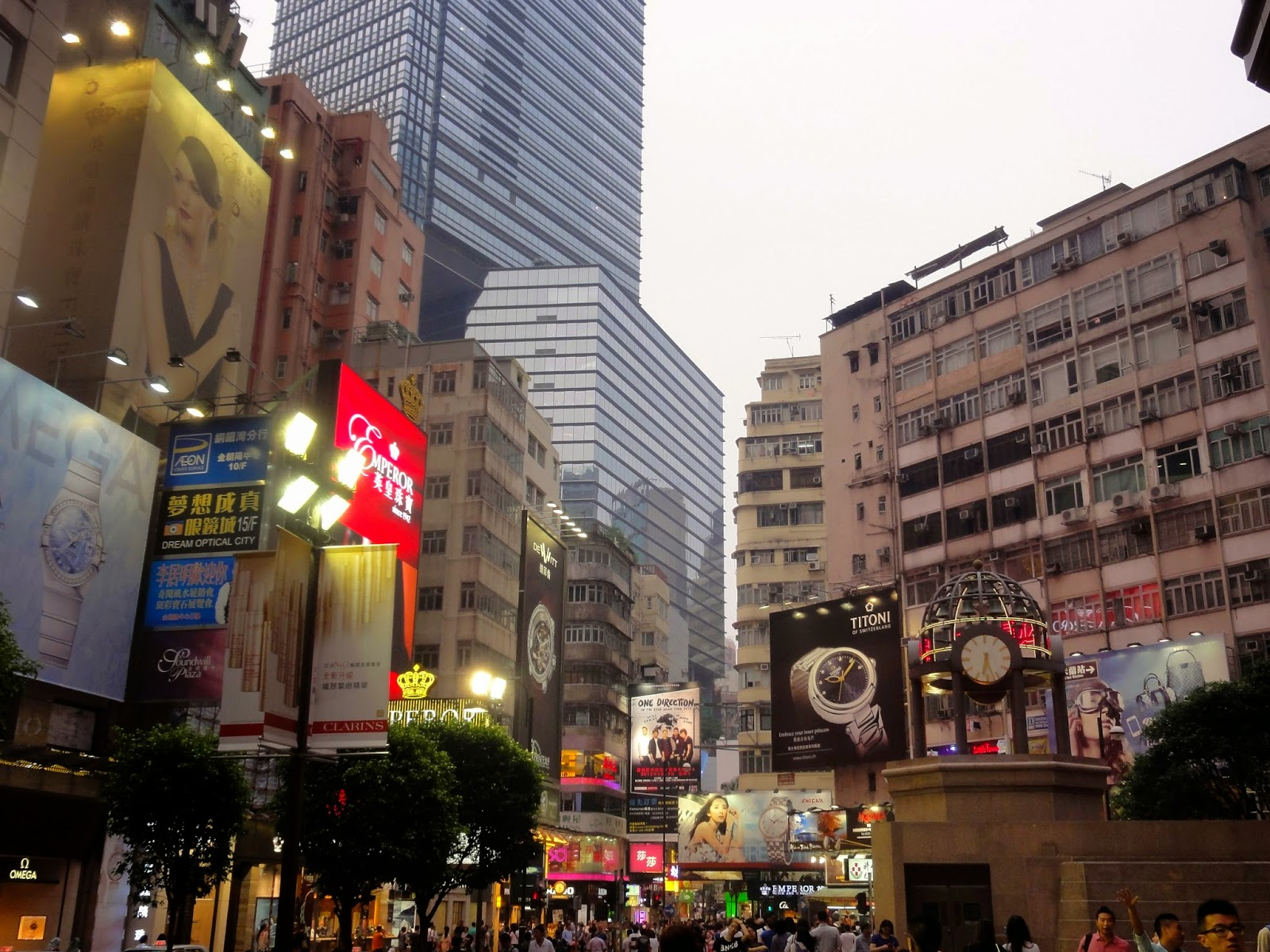 Causeway Bay Shopping District Hong Kong