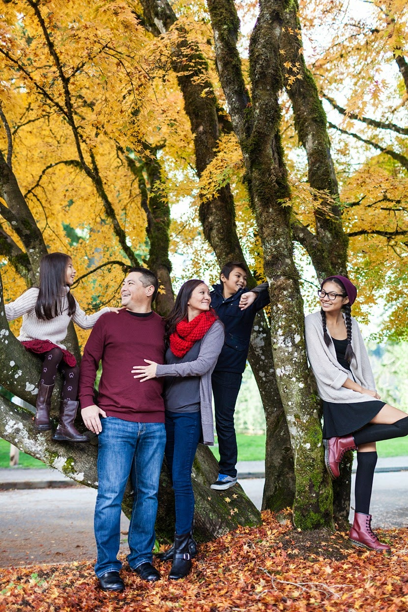 fall family pictures vancouver photo