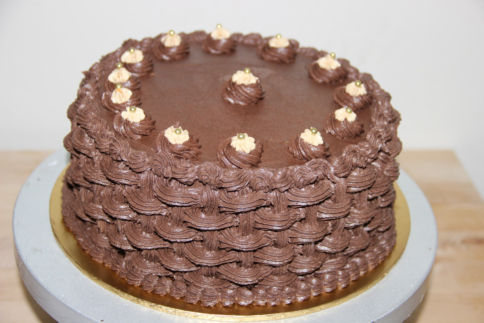 ... chocolate & peanut butter put together to form a soft, moist & light