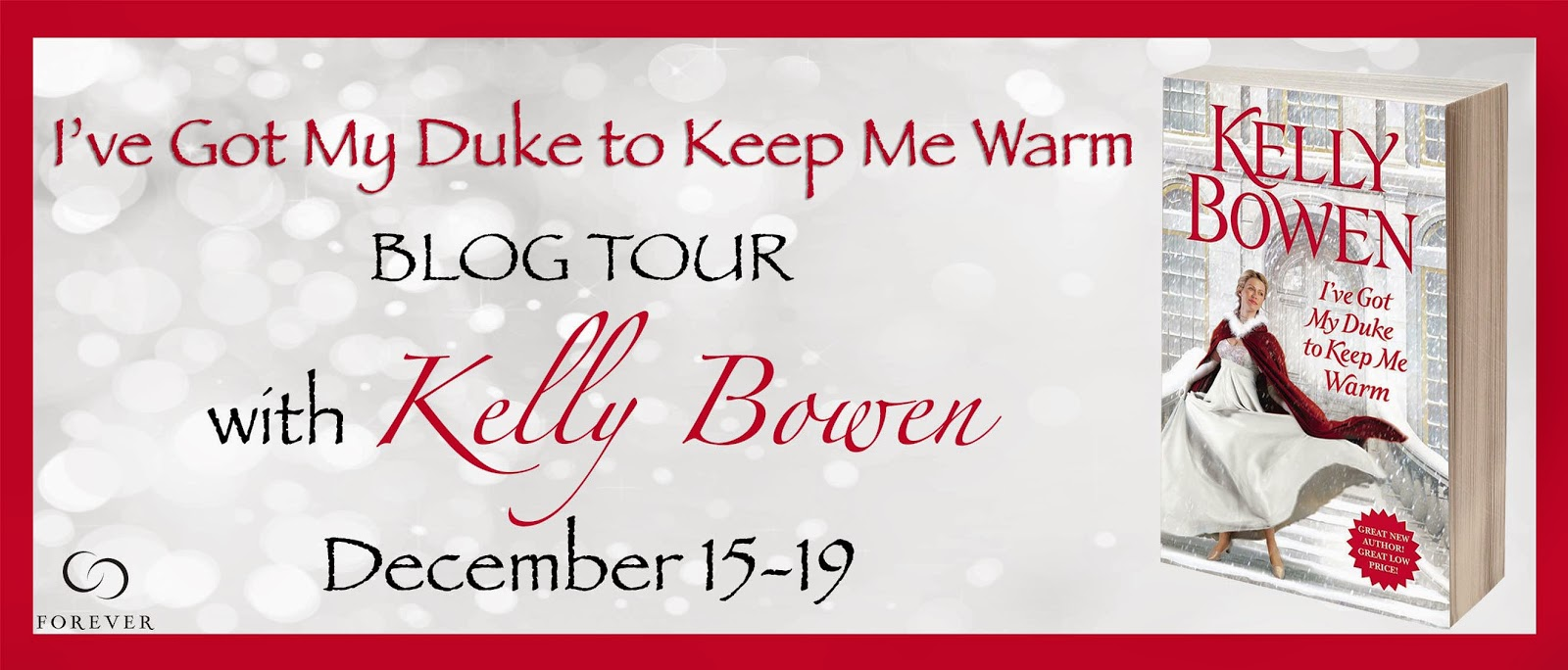 Blog Tour: Top 5 List + Giveaway – I've Got My Duke to Keep Me Warm by Kelly Bowen