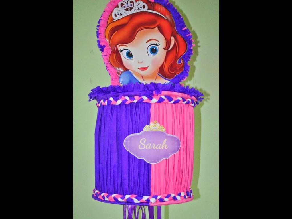 Piñatas Princesa Sofia, parte 1