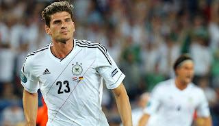 Mario Gomez la figura teutona