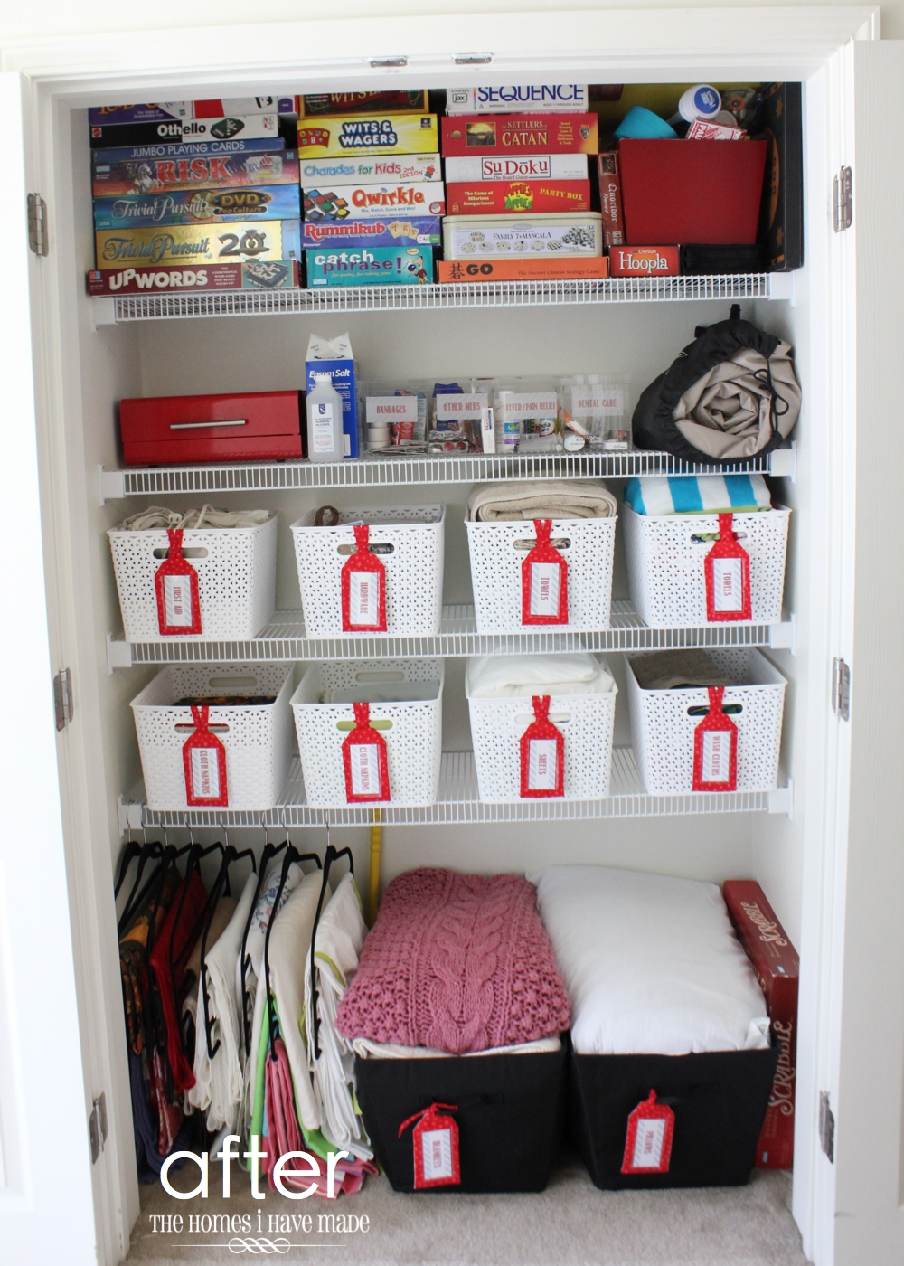 Organizing Linen Closet Ideas Part - 18: The Homes I Have Made