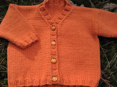 El örgüsü Bebek ceketleri