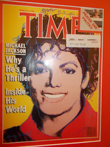 Michael.Jackson  cover designed by Andy.Warhol.