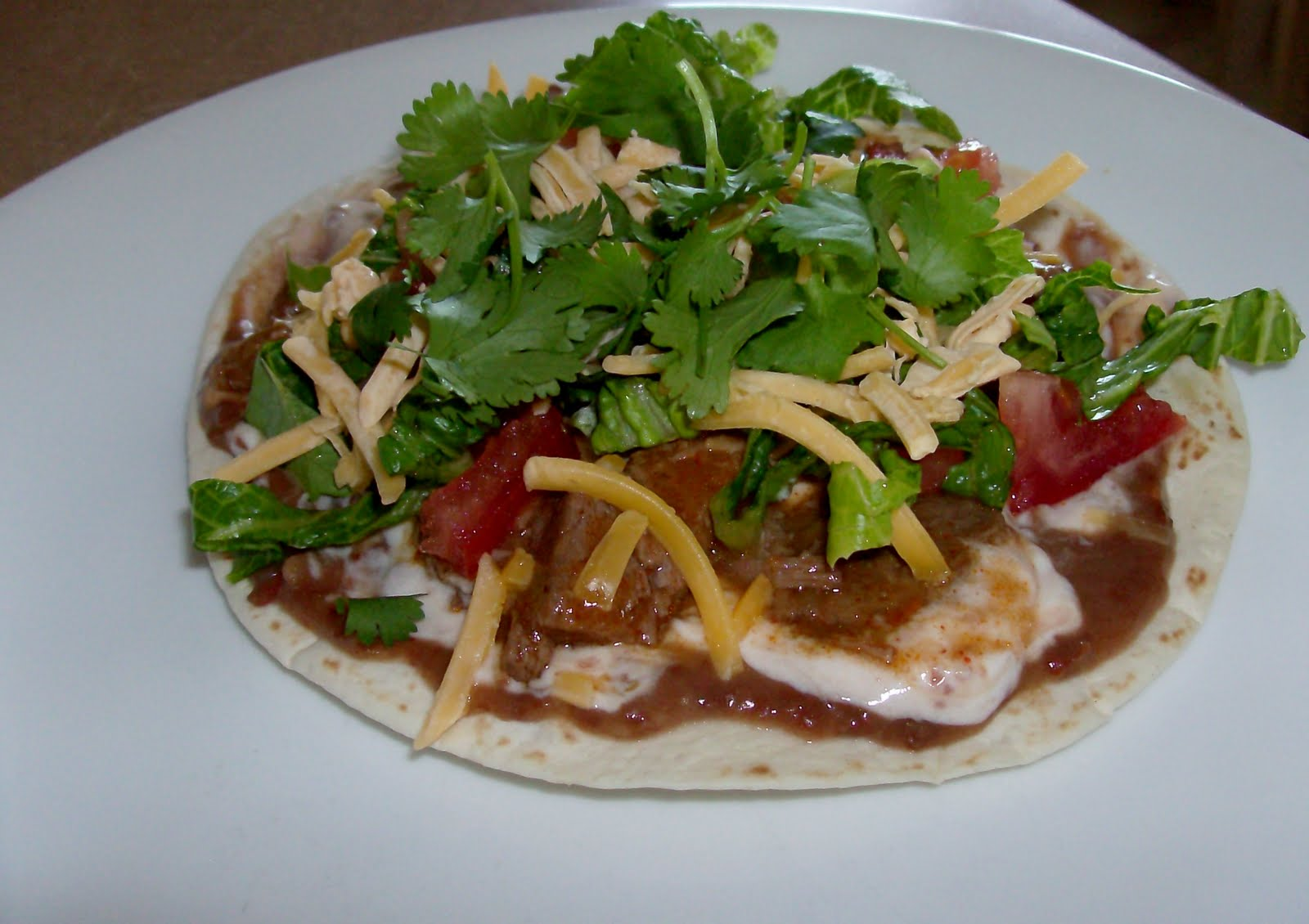 Slow Cooker (Really easy and fast) Tostadas with Shredded ...