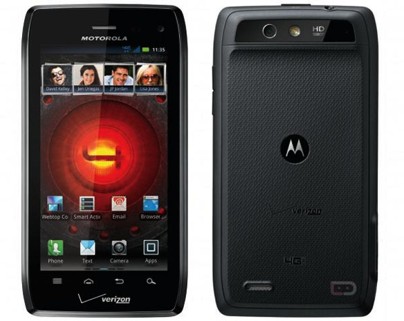 Official Motorola Droid 4 Specs Leaked, Droid 4 official pictures, Fron View and Back View