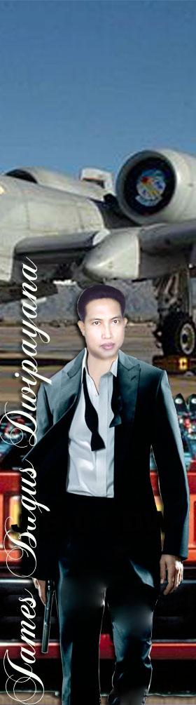 I'm James Bagus Dwipayana