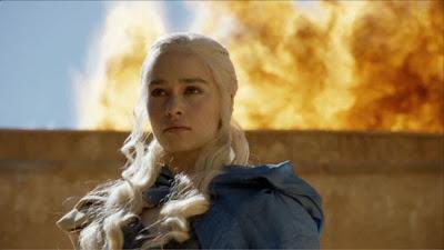 Daenerys fuego - Juego de Tronos en los siete reinos