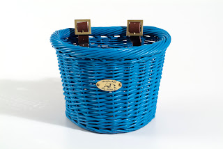 blue kids bike basket