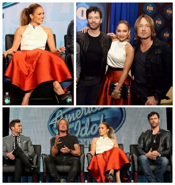 As on of the significant person on American Idol, it's imperative that Jennifer Lopez kept a firm grip on the style baton as she arrived a discussion panel in the Winter Television Critics Association Tour at Pasadena, USA on Saturday, January 17, 2015.