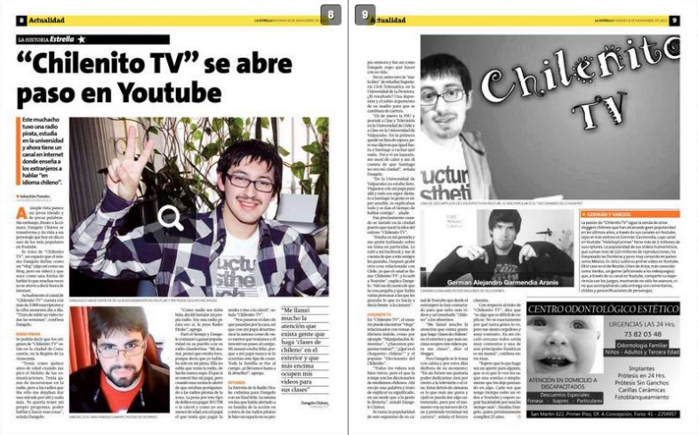 Clic para leer la entrevista a Chilenito TV