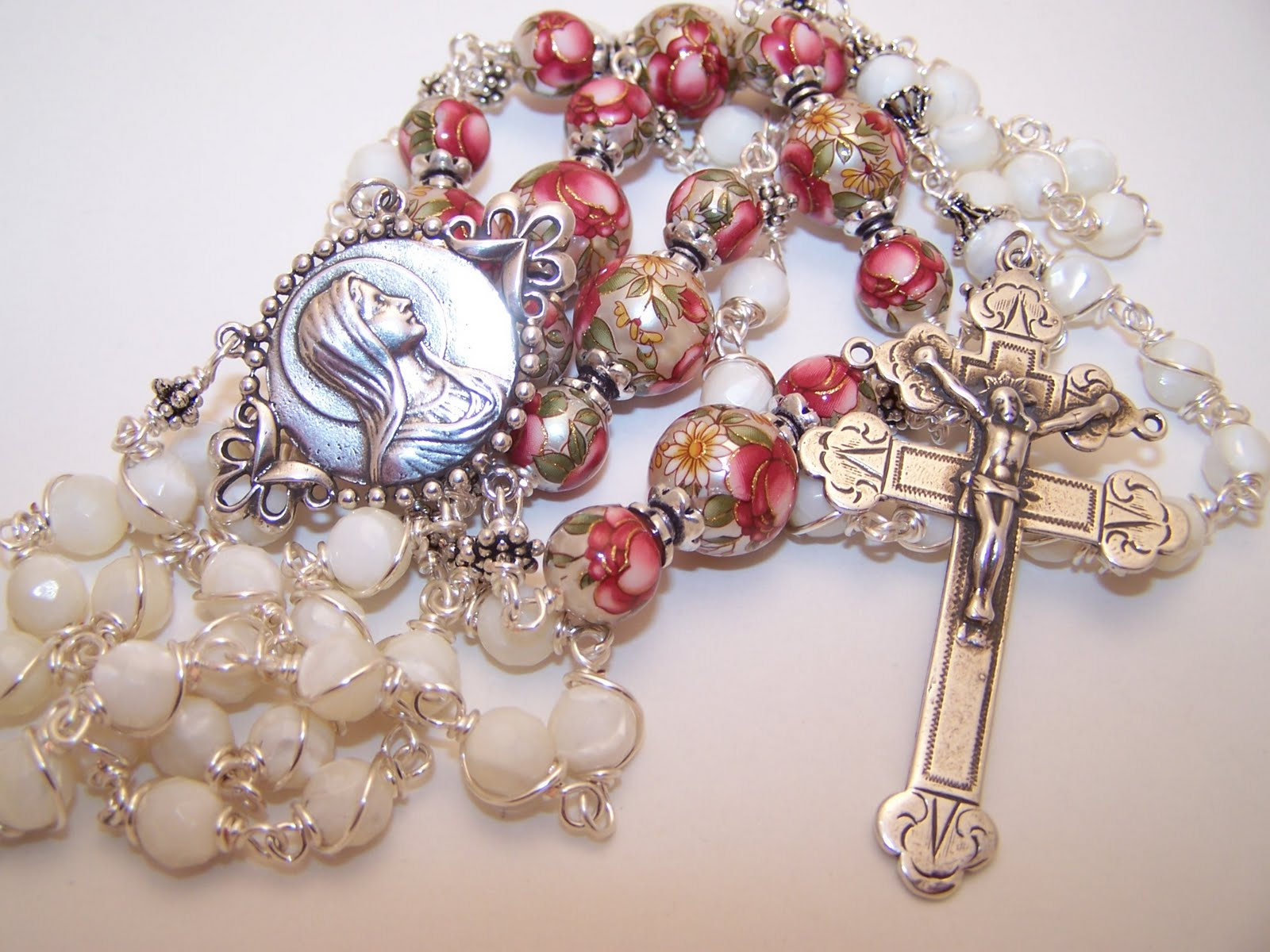 Roberts Heirloom Rosaries New Listing Unbreakable Rosary Given To St Dominic By The Virgin Mary