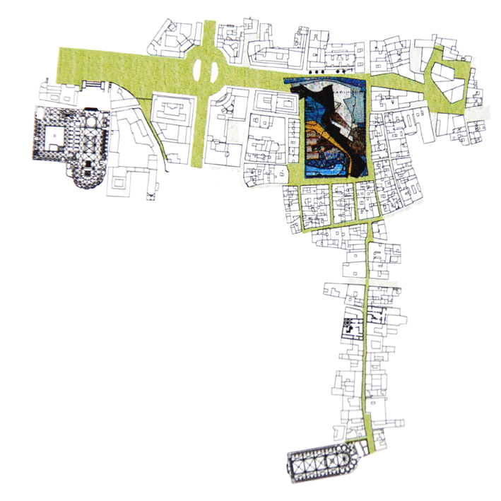 Multiples estrategias de arquitectura sobre el plano de for Planos de arquitectura