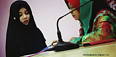 Stacy peluk Islam... Guna nama Ummi Syaikhah Stacy bin Anam