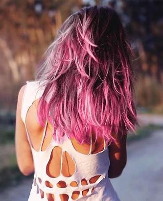 melena+rosa+nuevo+look