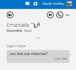 skype da Outlook.com