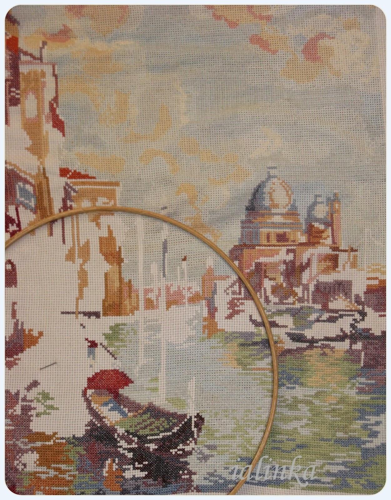 вышивка  Венеция
