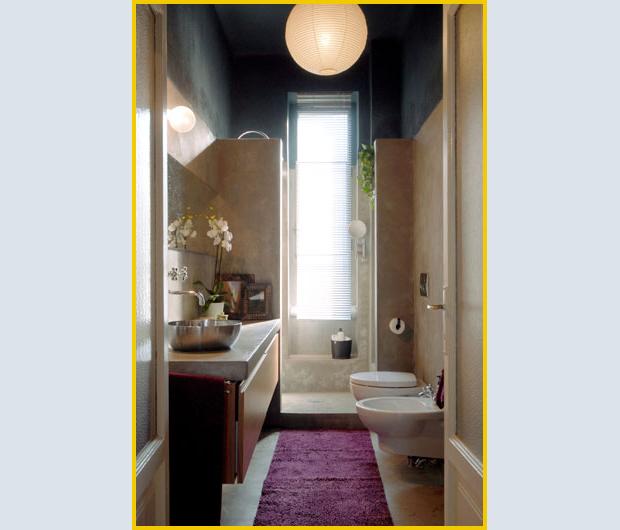 Quality design r e t r o - Doccia con finestra dentro ...