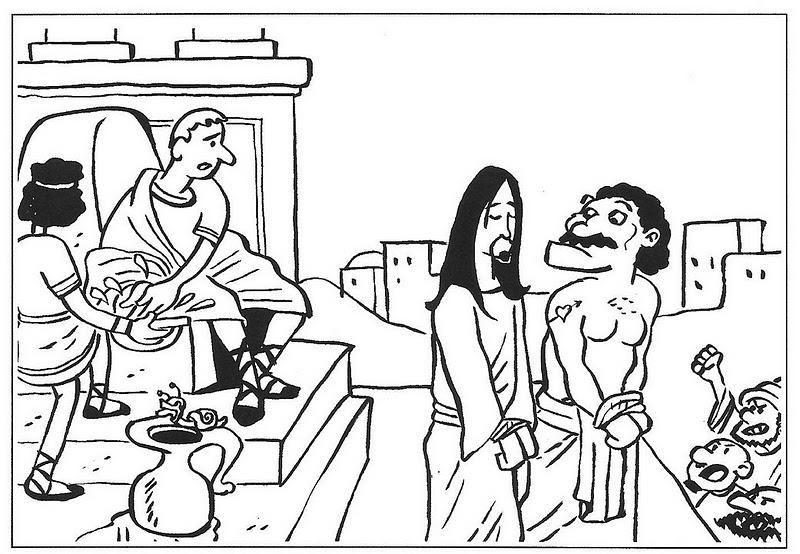 ME ABURRE LA RELIGIÓN: Dibujos para colorear pasión, muerte y ...