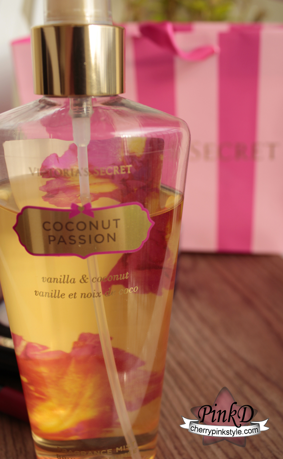 body splash coco vanilla