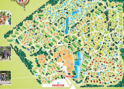 Center Parcs Limburgse Peel Parkplan