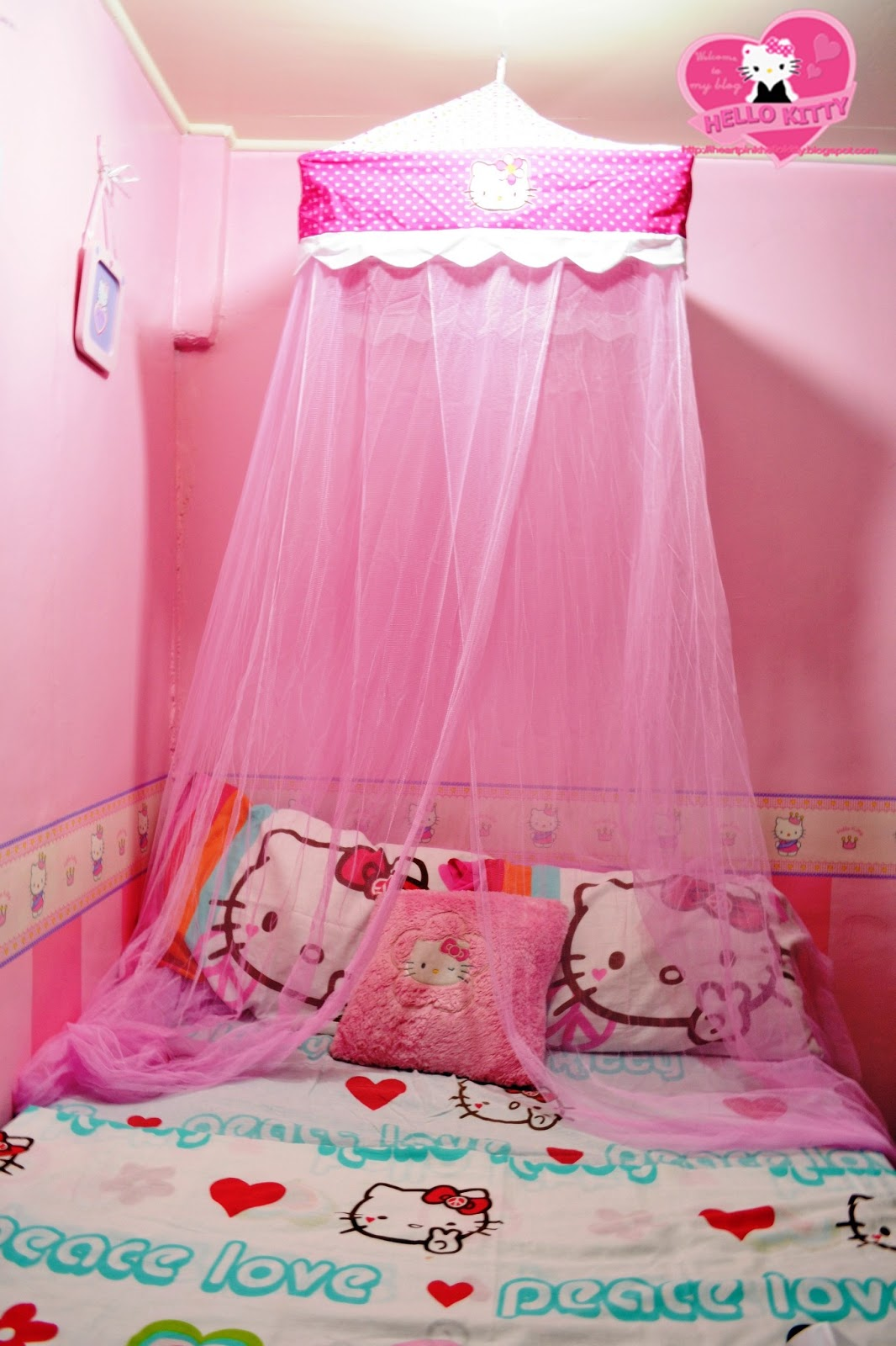 Hello Kitty Bedroom Idea Interior Decorating and Home Design Ideas