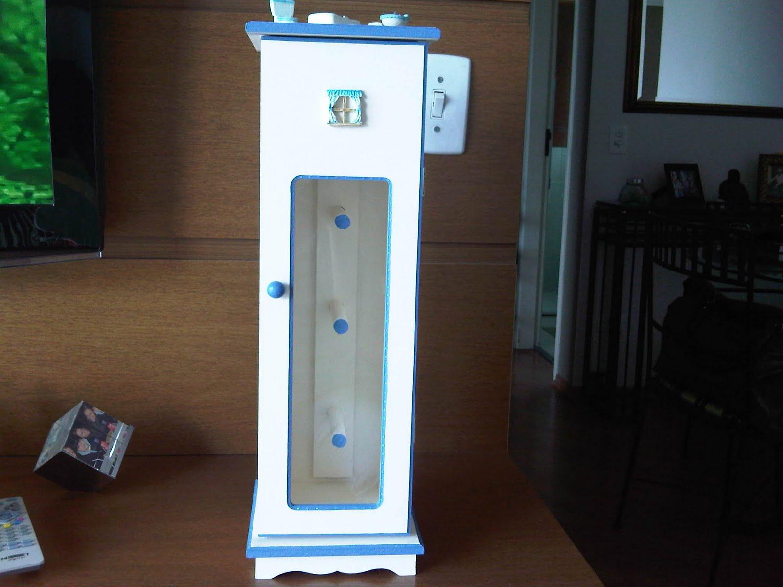Artes da Cacau Armário Porta papel higiênico para banheiro -> Armario De Banheiro Com Porta Papel Higienico