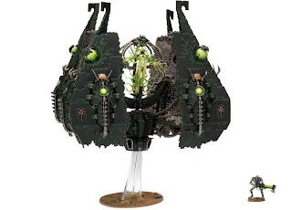 Warhammer 40k Apocalypse Necron Tesseract