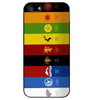 emblemas casas de poniente funda iphone - Juego de Tronos en los siete reinos