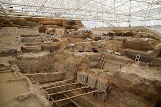 Excavación Catalhoyuk