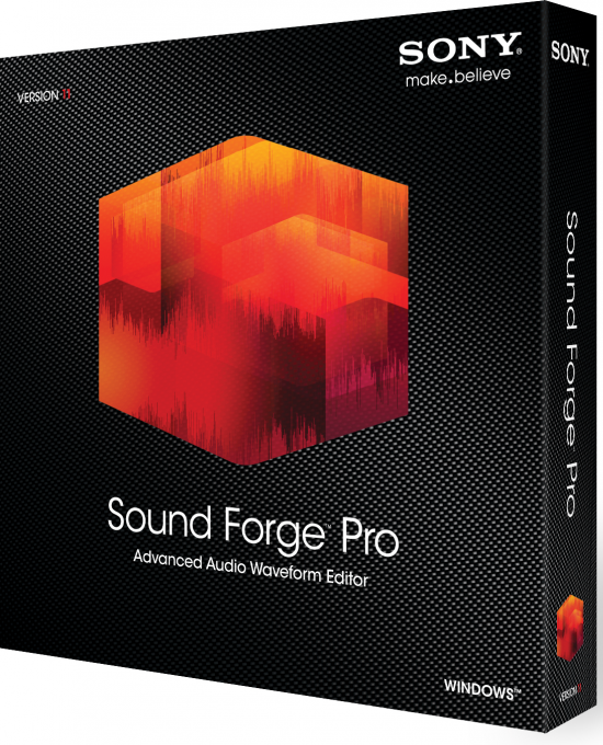 Sony Sound Forge Pro 11.0 Build 293