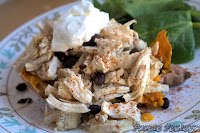 http://foodiefelisha.blogspot.com/2013/03/chicken-stuffed-sweet-potato.html