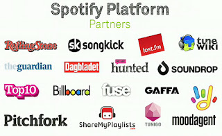 Spotify Partners image from Bobby Owsinski's Music 3.0 blog