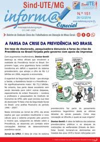 Boletim Informa nº 151 - Estadual