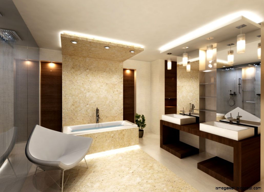 Bathroom Luxury Modern Design Ideas Mega Wallpapers