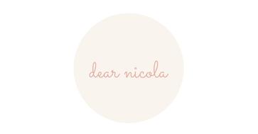 Dear Nicola