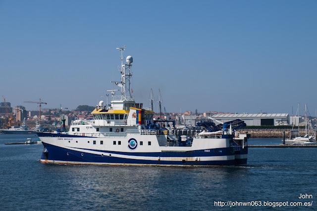 ramón margalef, buque oceanográfico, ieo, oceanografía, instituto español de oceanografía