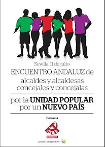 Encuentro Andaluz de alcaldes/as y concejales/as por la Unidad Popular