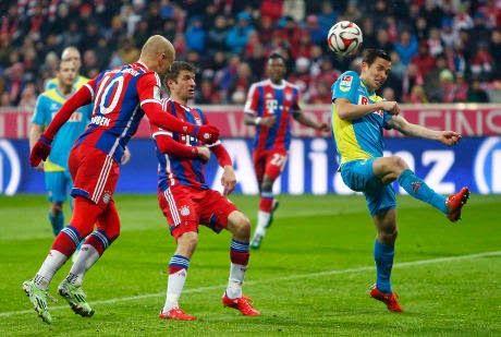 Bayern Munich vs FC Koln 4-1 Video Gol