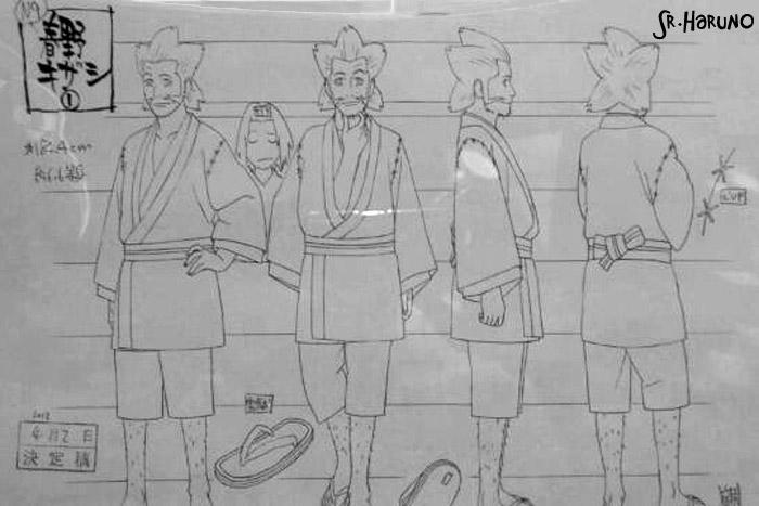 "Novidades ""Road To Ninja""   (Scans) Kizashi-Drawing"