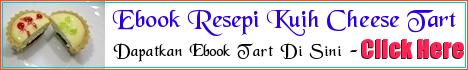 Nak Tahu Rahsia Resepi Cheese Tart Juma?