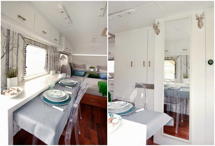 Decoración interior caravanas