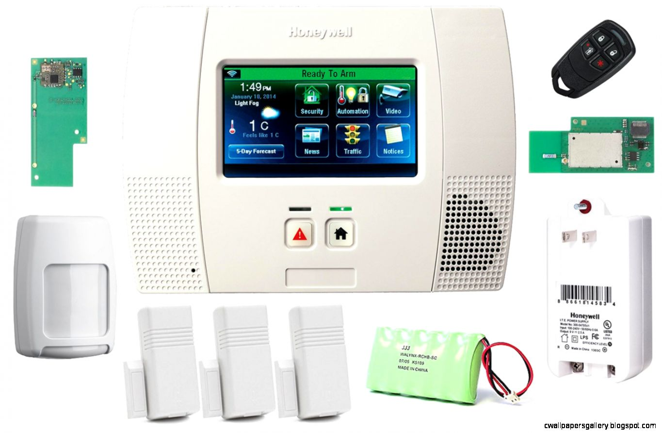 Honeywell Wireless Lynx Touch L5200 Home Automation