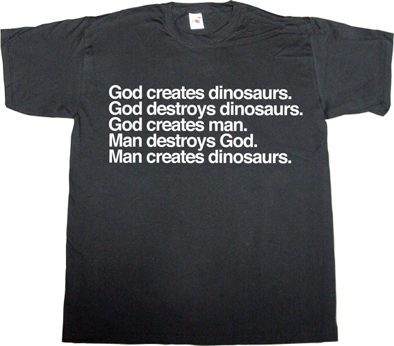 jurassic Park Richard Attenboroug , tribute dinosaur t-shirt ephemeral-t-shirts philosophy
