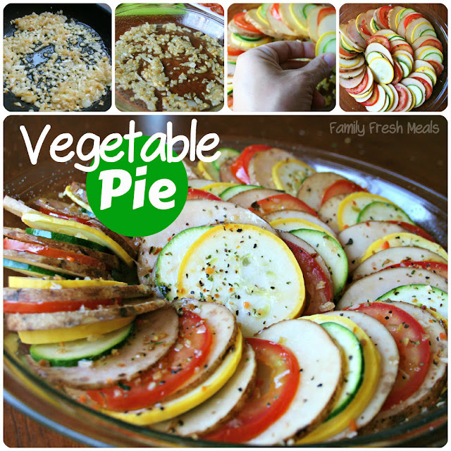 Vegetable Pie (aka Vegetable Tian)